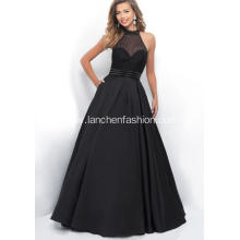 Sexy Halter Neck Black Quinceanera Dress